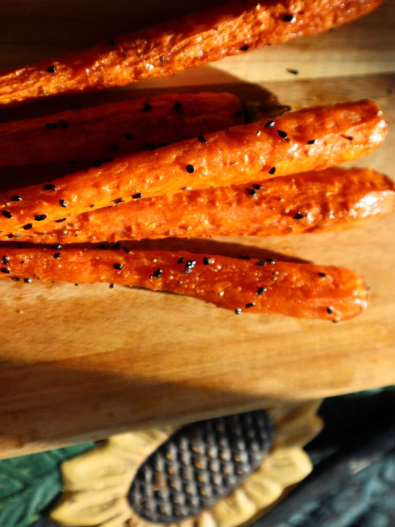 Roasted Carrots with nigella seeds 2