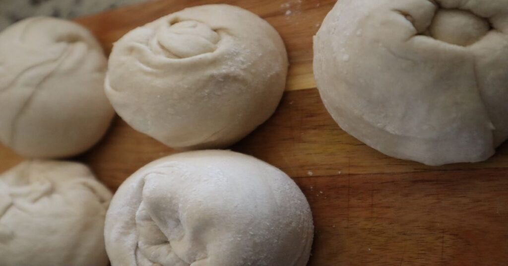 Roti Ready for Second Rise